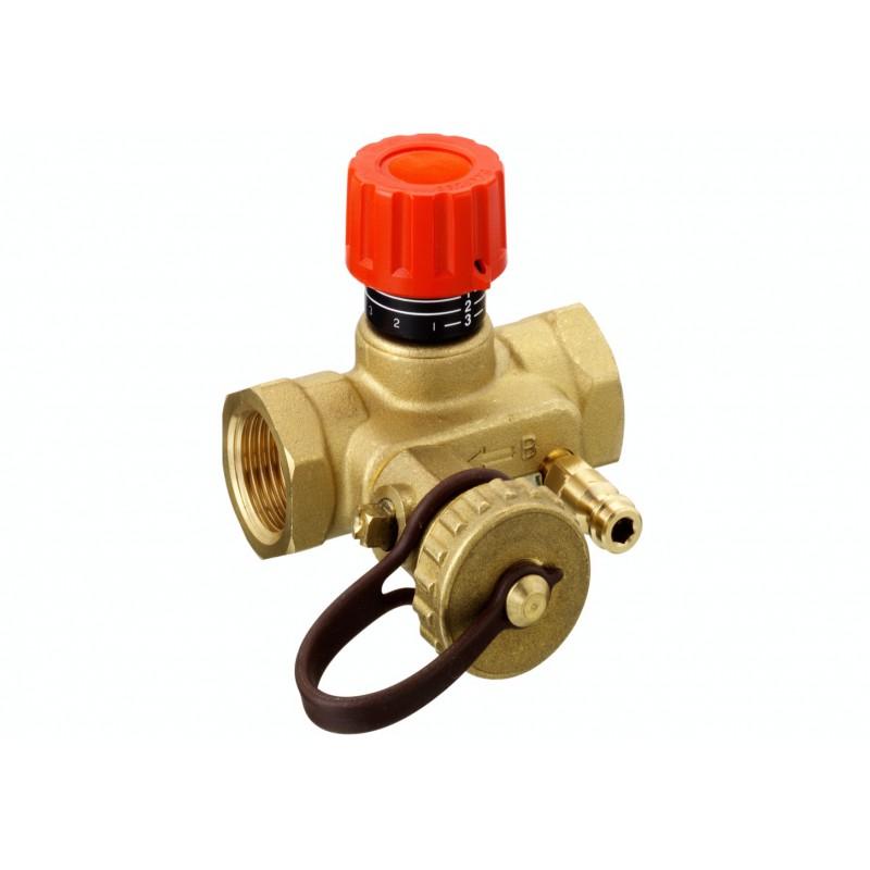 ручной запорно балансировочный клапан